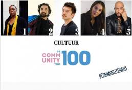 De 5 winnaars van the community top100 in de rubriek cultuur